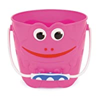 Toyrific Frog Plastic Bucket - Pink