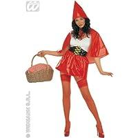 Cappuccetto Rosso Vinyl Costume Sexy. Dimensioni: