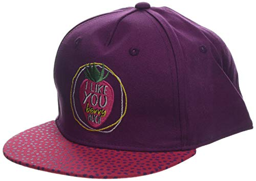 Henna Strawberry (maximo Mädchen Basecap Strawberry Kappe, Violett (Dunkel Henna 77), 53/55)