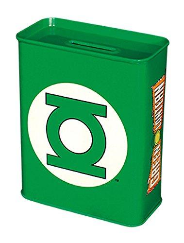 DC Comics-Green Lantern-Chapa de hucha-Logo