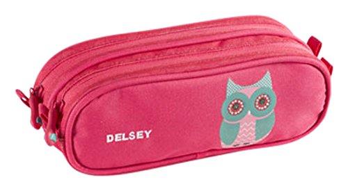 delsey-scolaire-schoolbag-trousse-23-cm-pivoine-chouette