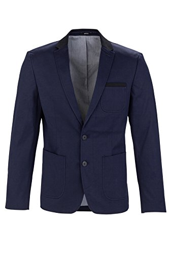 MEXX Herren Sakko Classic blazer with tailored twist, Gr. 56, Dunkel blau (Sky Captain 067)