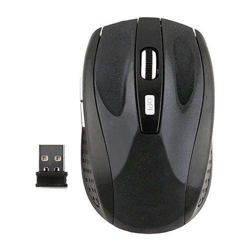 Dandeliondeme Tragbare Mini-Maus mit USB-Empfänger 2,4 G kabellose Maus tragbare optische Gaming-Maus für Notebook, PC, Laptop, Computer Multi
