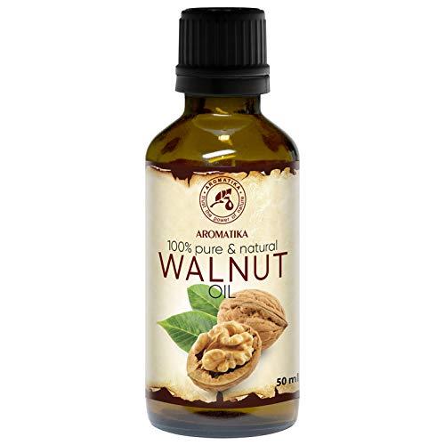 Walnussöl 50ml - Juglans Regia Seed Oil - USA - 100% Naturlich & Reines - Walnußöl - Basisöl -...
