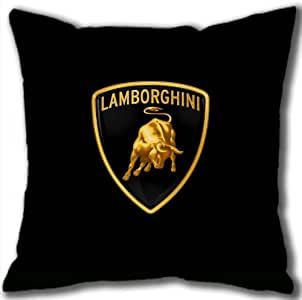 Lambirghini Logo Car Cotton Pillowcase