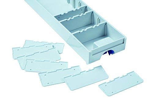 TANOS 10 Trennstege Lichtgrau für Schublade klein