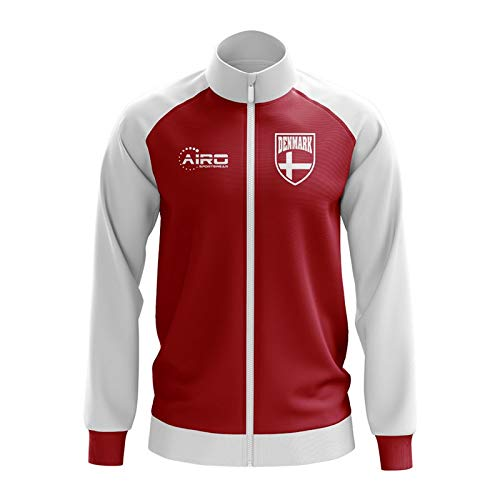 Airo Sportswear Denmark Concept Football Track Jacket (Red) - Kids