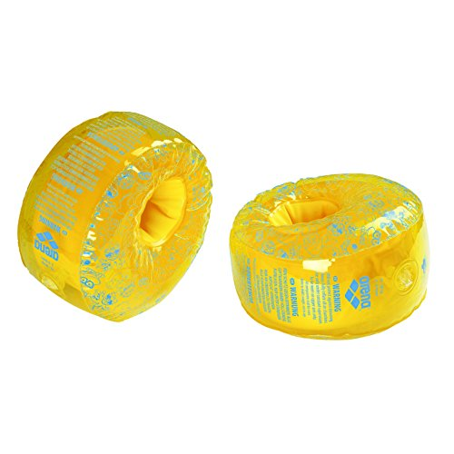 Arena Kinder Floating Schwimmflügel, Yellow/Martinica, One Size