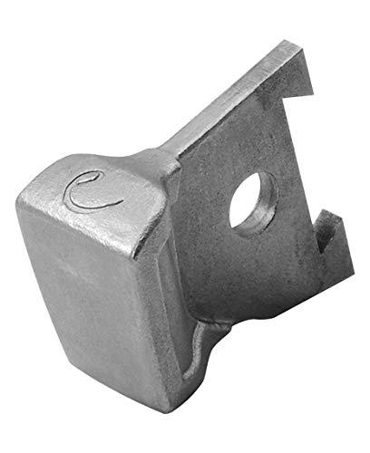 Edelrid Unisex– Erwachsene Eisgerät Zubehör Hammer Silver (006), one size