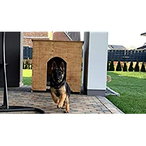 Hundehütte ca. 1 Kubikmeter Rauminhalt aus Holz unbehandelt