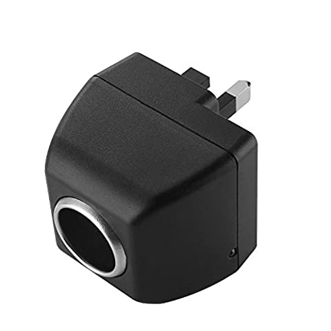 AOKII AC to DC Power Socket Adapter Converter,110~220V Mains to 12V Car Cigarette Lighter Socket Power Adapter Charger,Household Cigarette