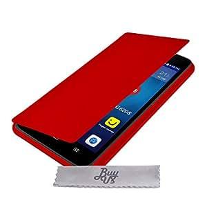 Etui Housse Rouge ExtraSlim Huawei G620s + STYLET et 3 FILMS OFFERTS!