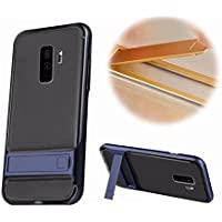 Galaxy S9 Plus Soporte Funda,MingKun Flexible TPU Carcasa para Samsung Galaxy S9 Plus Case Suave Silicona Cover