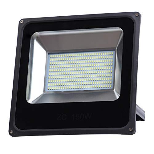 Csndice Home La lumière d'inondation de LED imperméable extérieure allume le réverbère lumineux superbe de lumière de sécurité IP65/66 (Couleur : 150W)