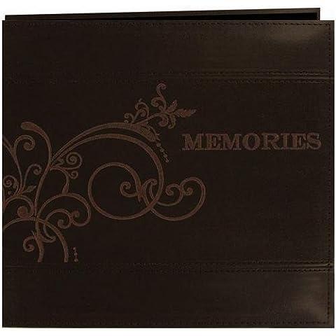 Pioneer Photo Albums-Album fotografico ricamato, in similpelle/12-5