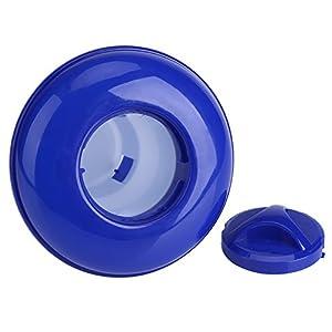 Dispenser Chimico, Blu e Bianco Piscina Terme Erogatore Chimico Galleggiante di Cloro Bromo Per Piscine Coperte e All'aperto (S)