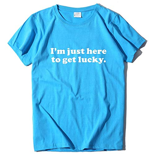 serliyDamen Lose Kurzarm T-Shirt Brief Drucke Weise Hemden Frauen beiläufige Oansatz Oberteile Mode Elegant Streetwear Sport Freizeit Festival Kleidung Bluse Tops