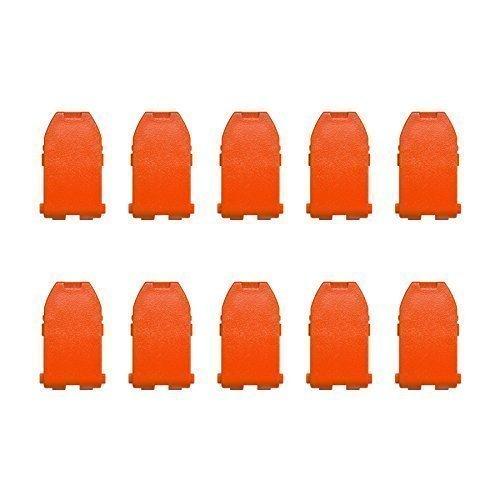 Preisvergleich Produktbild Tanos Festool BTI Hitachi Systainer Classic Verschlüsse / Schnapper orange Pack a 10 St