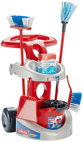 Price comparison product image Theo Klein Toy Vileda Cleaning Trolly