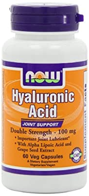 Hyaluronic Acid 100mg 60vcaps by now