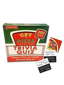 Lagoon Group- Consigue una Pizza The Action Trivia Quiz, Color Rosso (7419)