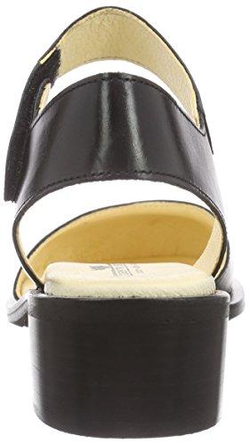 John W. Shoes Migina, Baskets Basses femme Noir - Noir