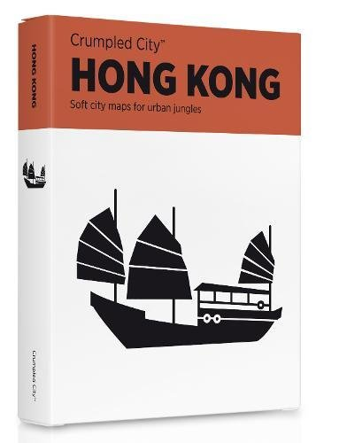 Crumpled city map. Hong Kong. Ediz. multilingue (Crumpled City Maps)