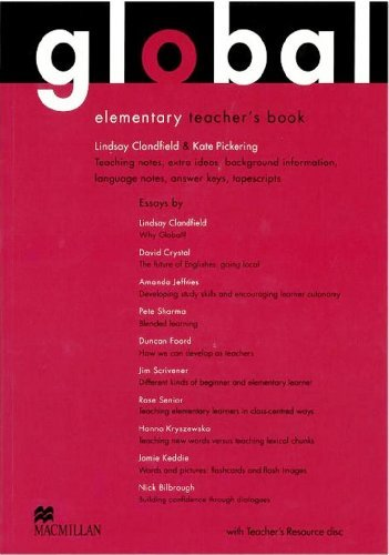 Global Elementary: Teacher's Book with Test CD by Lindsay Clandfield (2010-02-19)