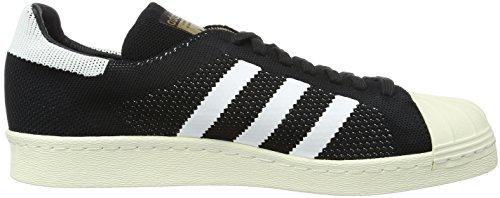 adidas Superstar 80s Primek, Chaussures Homme noir/blanc