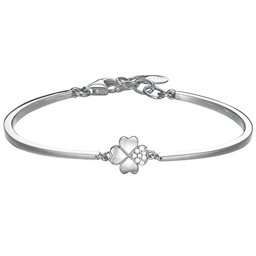 Esprit ESBA91256A600 Damen Armband Kleeblatt esprit-jw50026 Sterling-Silber 925 weiß Zirkonia 21 cm