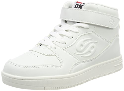 Dockers by Gerli Unisex-Kinder 41EL622-610500 Sneaker, Weiß (Weiss 500), 39 EU