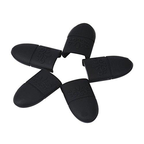 tefamore-10pcs-silica-gel-nail-soak-off-uv-gel-art-polish-remover-wrap-cap-black