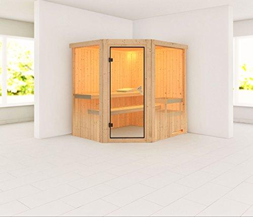Karibu Sauna Lilja Basismodell - ohne Ofen
