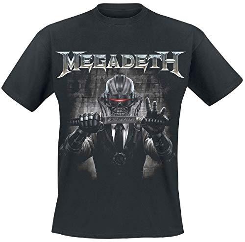Megadeth Rust In Peace Sword Camiseta Negro L