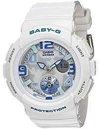 Casio Baby-G Analog-Digital White Dial Women's Watch - BGA-190-7BDR (B158)