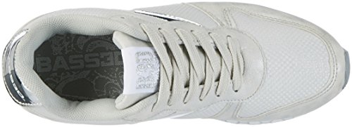 XTI Damen 41274 Sneaker Silber (Plata)