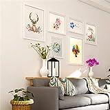 JIAO DE Hängender Foto-Wand-Bilderrahmen Stellte Hintergrund-Wand-Foto-Rahmen-hängende Dekoration Ein