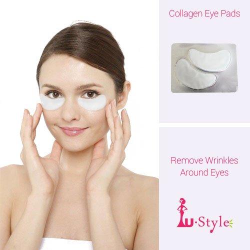 UStyle U-Förmig Collagen Eye Pads (30Paar-60Stück Insgesamt) -