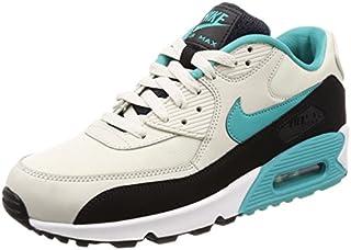 NIKE Men's Air Max 90 Essential Gymnastics Shoes, Beige (Light Bone Sport Turqblackwh 001), 8 UK (B077RX5P6L) | Amazon price tracker / tracking, Amazon price history charts, Amazon price watches, Amazon price drop alerts
