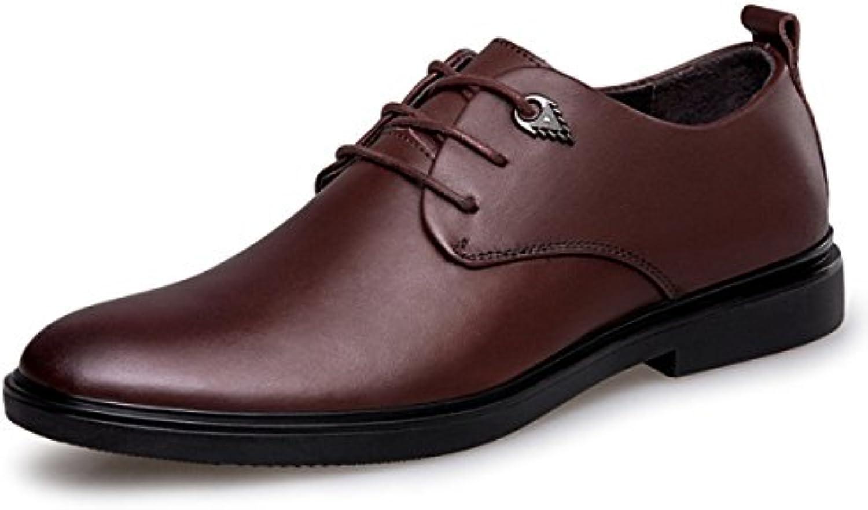Lacing Scarpe Uomo Scarpe Di Cuoio Scarpe Da Uomo Affari Tempo Libero Lavoro Scarpe Di Cuoio Scarpe Da Vestito | Il Prezzo Di Liquidazione  | Uomini/Donne Scarpa