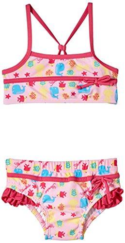 Sterntaler Baby - Mädchen Zweiteiler Bikini, Gr. 80, Rosa (mandelblüte 715)