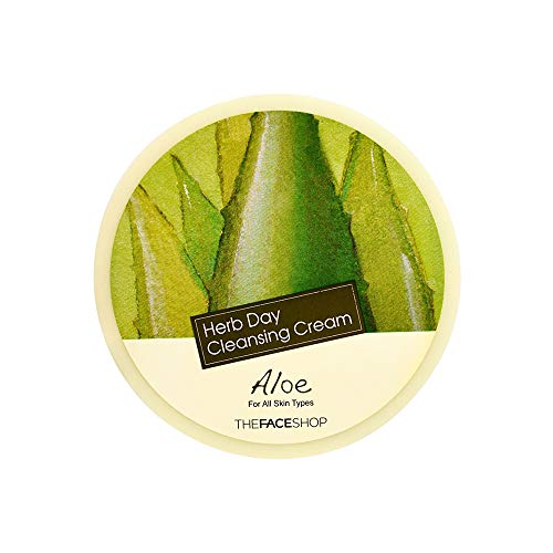The Face Shop Herb Day Cleansing Cream Aloe, 150 ml