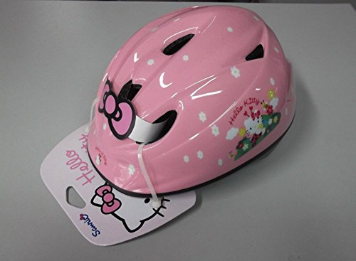 Casque Vélo Enfant Kids ironway original Hello Kitty Pink coccinelles TG.46 - 52