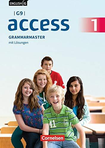 English G Access - G9 - Ausgabe 2019: Band 1: 5. Schuljahr - Grammarmaster: Mit Lösungen