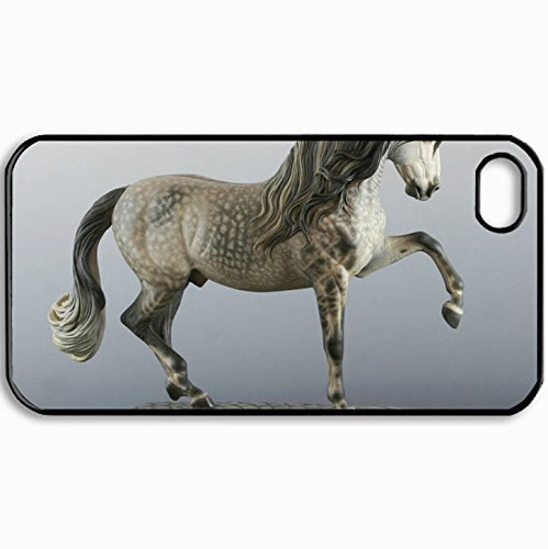 personalized-protective-hardshell-back-hardcover-for-iphone-4-4s-andalusian-breyer-design-in-black-c