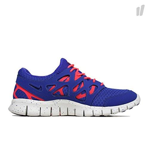 Nike Free Run+ 2 EXT Laufschuhe verschiedene Farben, Schuhgröße:EUR 44, Farbe:blau/rot/weiß