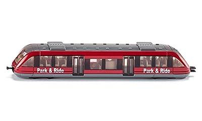 Siku Local Train–Modelle der Eisenbahnen und Züge (Kinder/Mädchen, grau, rot) von Siku