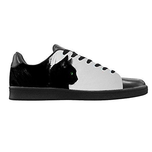 Dalliy kunst katze Men's Canvas shoes Schuhe Lace-up High-top Sneakers Segeltuchschuhe Leinwand-Schuh-Turnschuhe C