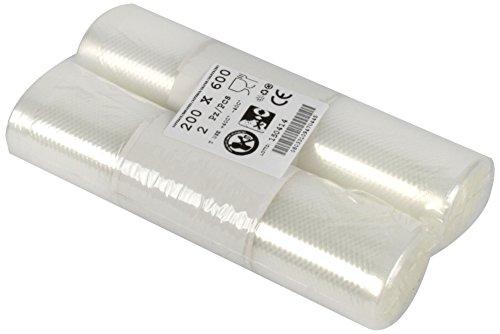 Besser Vacuum gr000d020X 600b0822a Rolle für das Vakuum geprägt, Plastic, transparent (Vakuum Kochfeld)