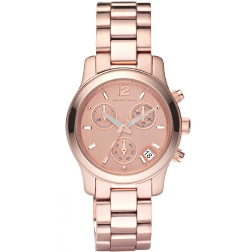 Michaël Kors MK5430 - Reloj analógico de mujer de cuarzo con correa de acero inoxidable rosa